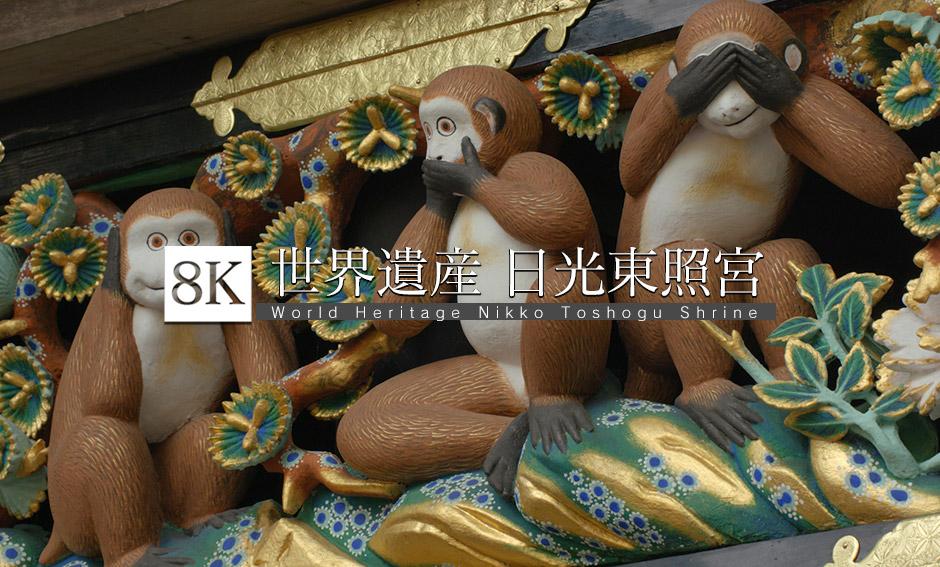世界遺産、日光東照宮Vol.1_8K
