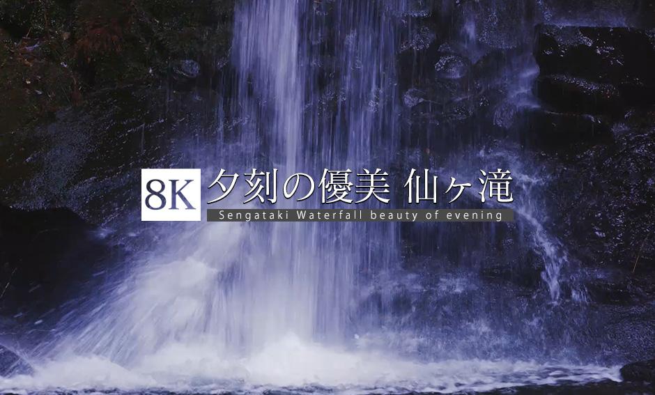 夕刻の優美、仙ヶ滝エレジー_8K
