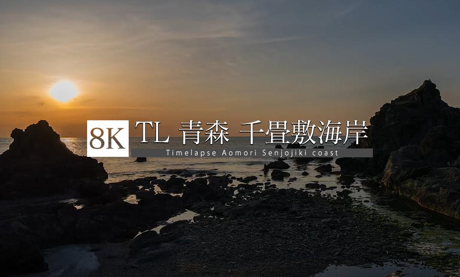 TL_⻘森県、千畳敷海岸_8K