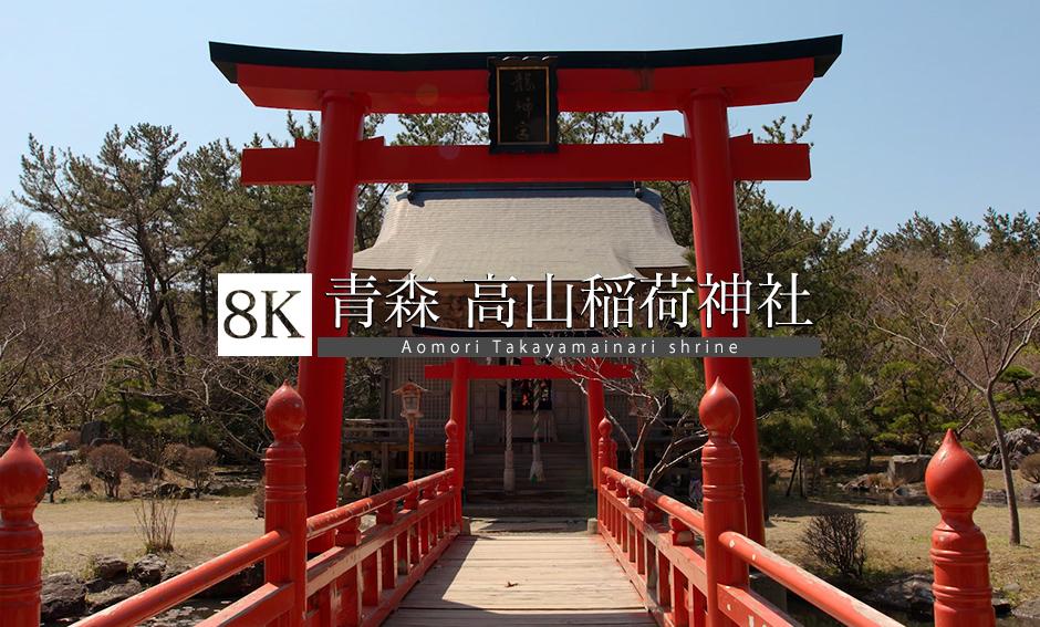 異空間、高山稲荷神社_8K