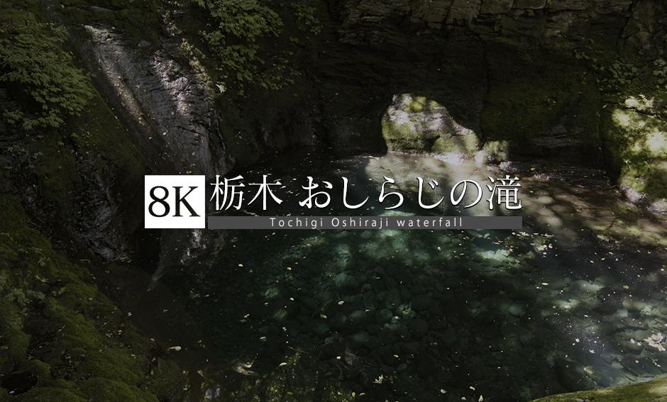 栃木の神秘・幻の「おしらじの滝」_8K
