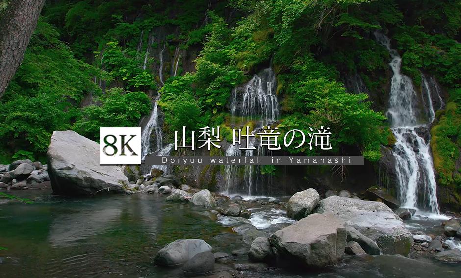 吐竜の滝_8K