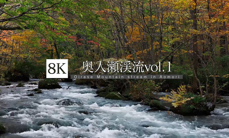 奥入瀬渓流   vol.1_8K