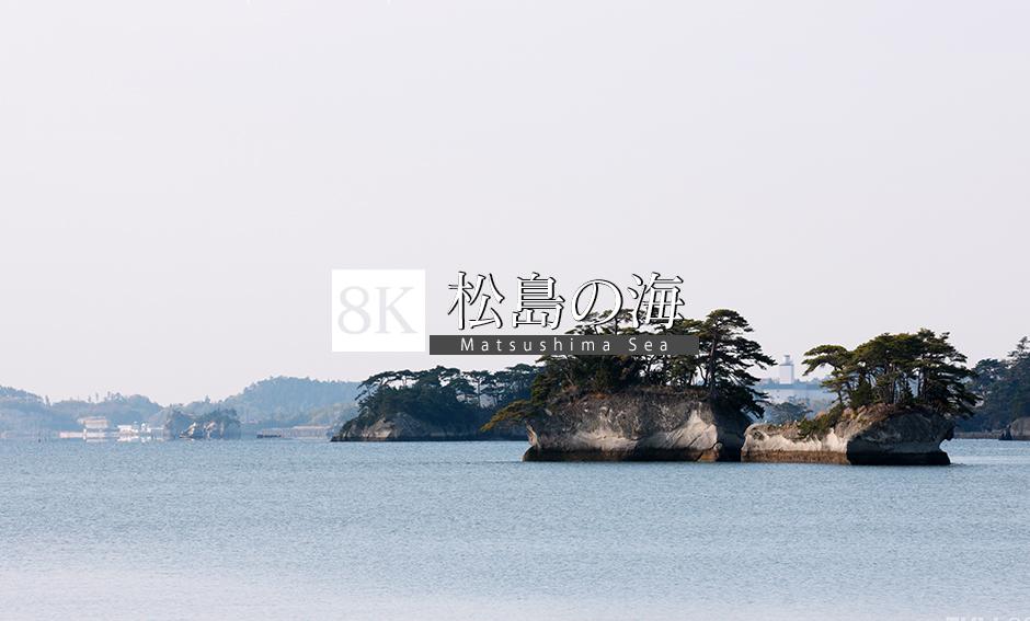 松島の海_8K